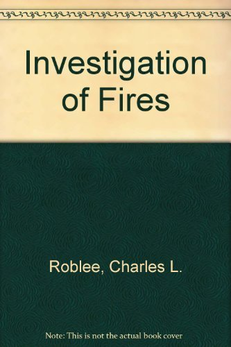9780135031698: Investigation of Fires