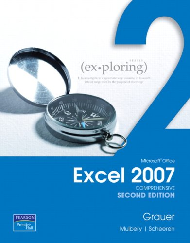 9780135032275: Exploring Microsoft Office Excel 2007, Comprehensive (2nd Edition)