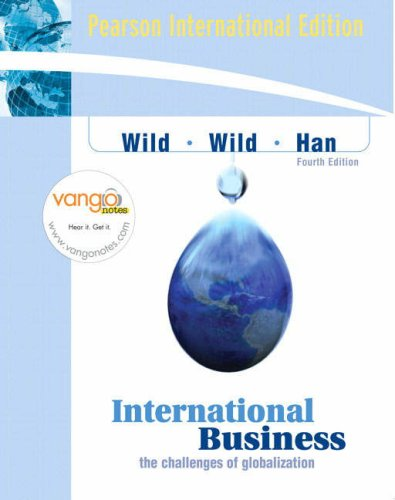 9780135032817: International Business: The Challenges of Globalization: International Edition