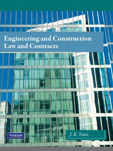 9780135033524: Engineering and Construction Law & Contracts
