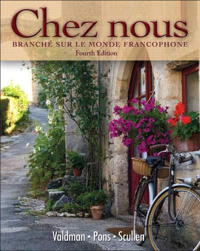 9780135033678: Chez nous: Branché sur le monde francophone (4th Edition)