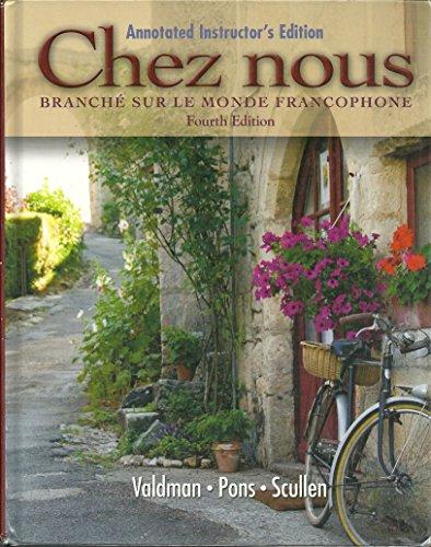 9780135034156: Chez Nous Branche Sur Le Monde Francophone Annotated Instructors Ed