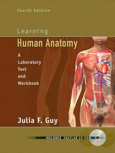 9780135035603: Learning Human Anatomy (4th Edition)