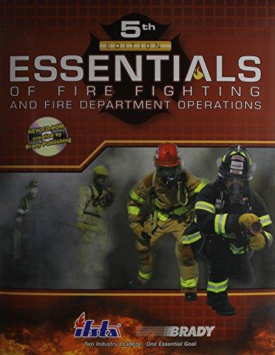 9780135035771: Esstls Fire Fighter Fire Dept Oper Studts WB