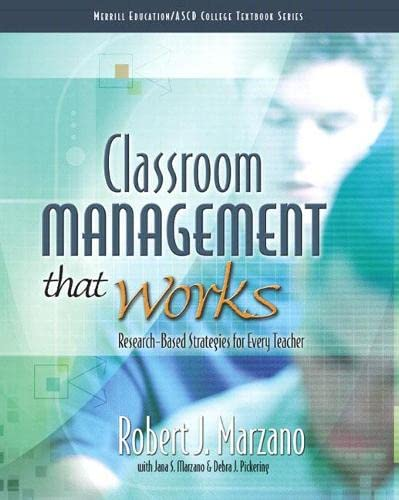 9780135035832: Classroom Management That Works: Research-Based Strategies for Every Teacher (Merrill Education/ASCD College Textbooks)