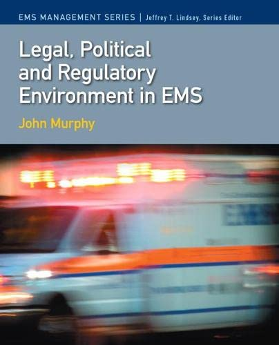 9780135036037: Legal, Political & Regulatory Environment in EMS