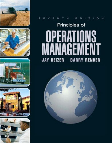 Principles of Operations Management and Student CD & DVD: Value Package (includes POM-QM for Windows v. 3) (0135037395) by Heizer, Jay; Render, Barry