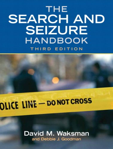 9780135038451: The Search and Seizure Handbook (3rd Edition)