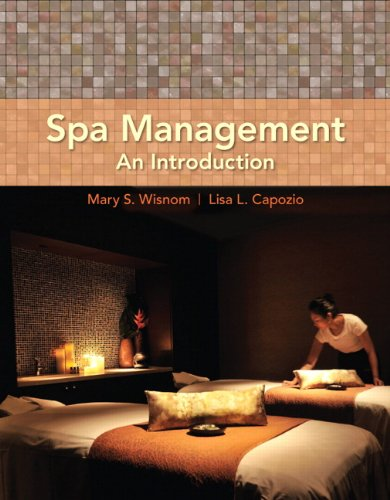 9780135039441: Spa Management: An Introduction