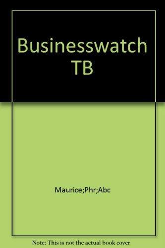 9780135039700: Businesswatch TB