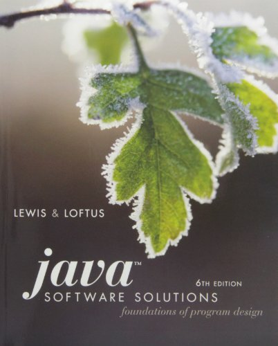 9780135040164: Java Software Solutions: Foundations of Program Design [With DVD and Access Code]