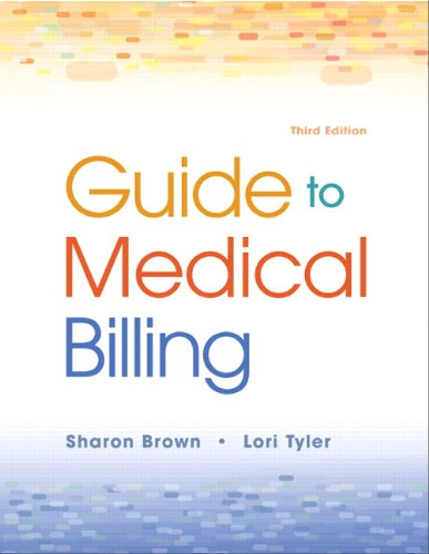9780135041376: Guide to Medical Billing (3rd Edition)