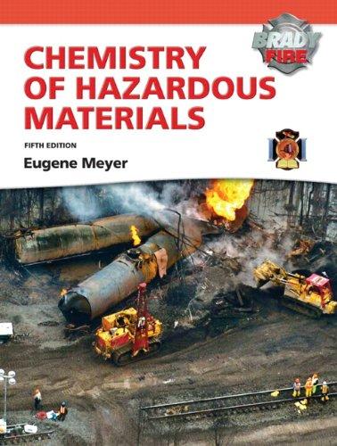 9780135041598: Chemistry of Hazardous Materials with MyFireKit (5th Edition)