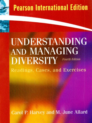 9780135042779: Understanding and Managing Diversity: Readings, Cases, and Exercises (4th Edition)