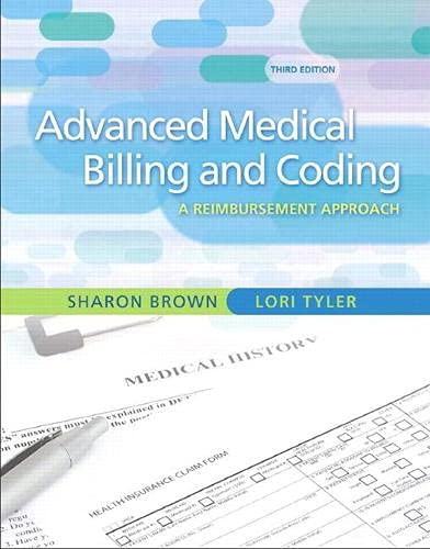 9780135043059: Guide to Advanced Medical Billing: A Reimbursement Approach (3rd Edition)