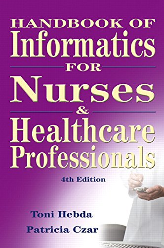 9780135043943: Handbook of Informatics for Nurses and Health Care Professionals
