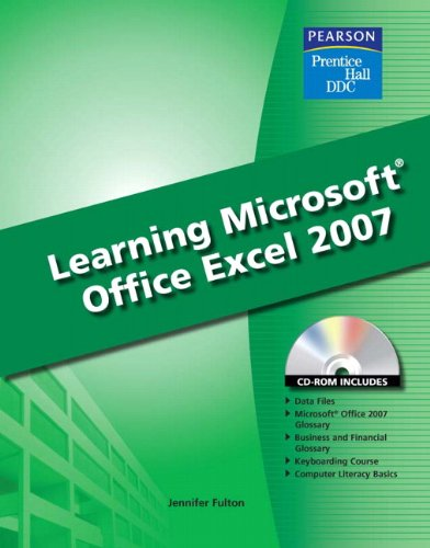 9780135045015: Learning Microsoft Excel 2007 Student Edition
