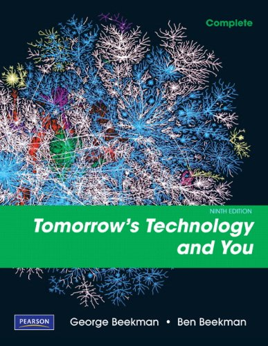 9780135045046: Tomorrow's Technology and You, Complete (9th Edition)