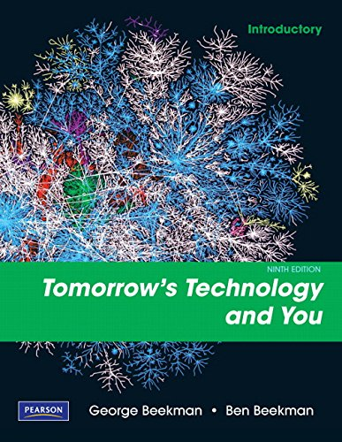 9780135045107: Tomorrow's Technology and You, Introductory (9th Edition)