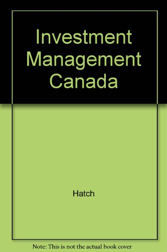 Investment Management Canada: Hatch