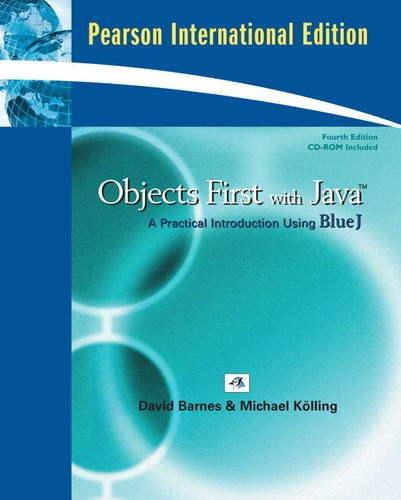 9780135045879: Objects First with Java: A Practical Introduction Using BlueJ