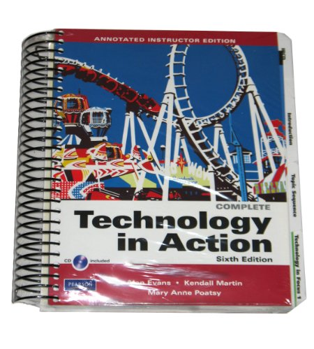 9780135046258: Complete Technology in Action 6th Edition