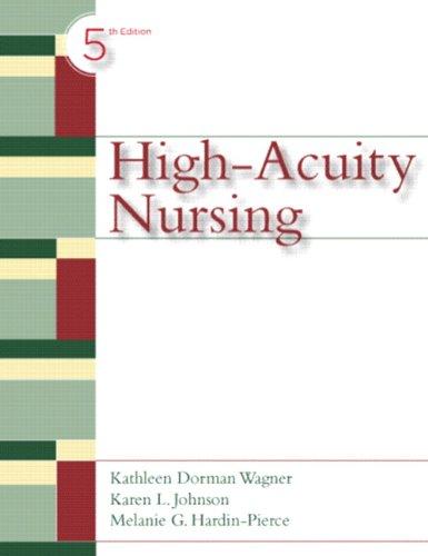 9780135049266: High-Acuity Nursing