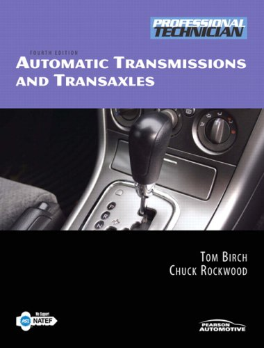 9780135051351: Automatic Transmissions & Transaxles (4th Edition)