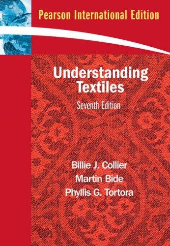 9780135051788: Understanding Textiles 7th Edition