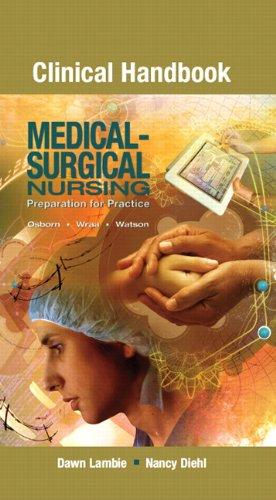 9780135052037: Clinical Handbook for Medical-Surgical Nursing