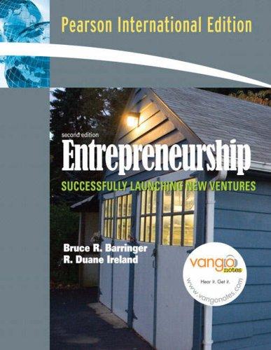 9780135052822: Entrepreneurship: Successfully Launching New Ventures