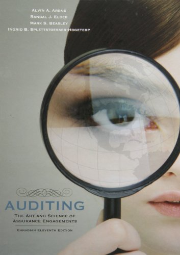 9780135054673: Auditing: The Art and Science of Assurance Engagements, Canadian Eleventh Edition