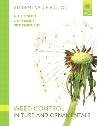 9780135054826: Weed Control in Turf Grass and Ornamentals, Student Value Edition