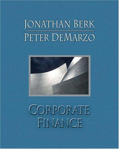 Corporate Finance plus MyFinanceLab 2-semester Student Access: Berk, Jonathan; DeMarzo,