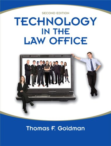 9780135056820: Technology in the Law Office (2nd Edition)
