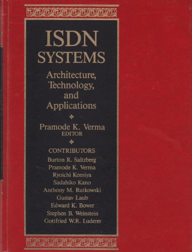 9780135057360: ISDN Systems: Architecture, Technology, and Applications