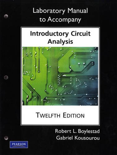 9780135060148: Laboratory Manual for Introductory Circuit Analysis (Pearson Custom Electronics Technology)