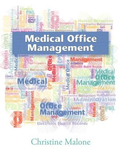 9780135060674: Medical Office Management