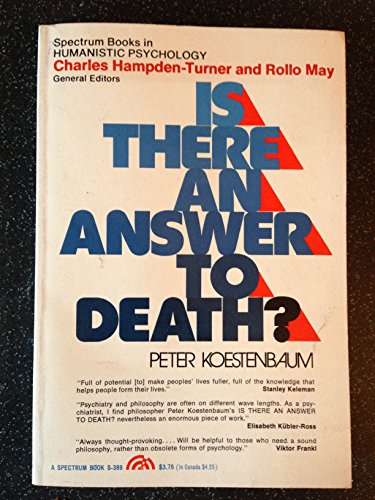 9780135060971: Is There an Answer to Death? (Spectrum Books)