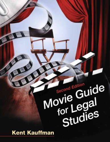 9780135063750: Movie Guide for Legal Studies