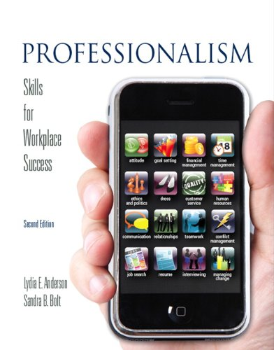 9780135063880: Professionalism: Skills for Workplace Success (2nd Edition)