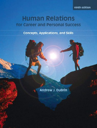 9780135063903: Human Relations For Career and Personal Success: Concepts, Applications, and Skills (9th Edition) (Pearson Custom Business Skills)