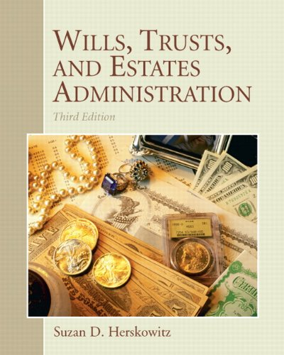 9780135063996: Wills, Trusts, and Estates Administration