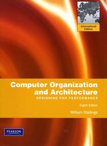 9780135064177: Computer Organization and Architecture: International Version: Designing for Performance