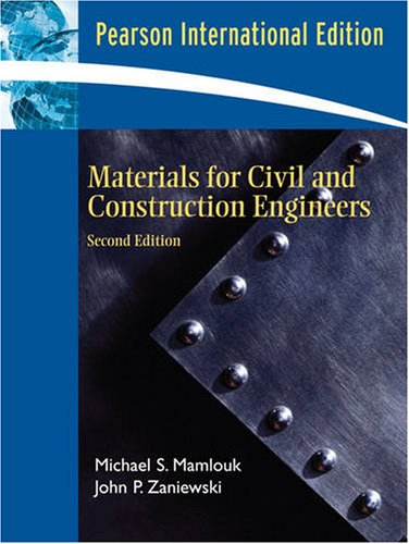 Materials for Civil and Construction Engineers International