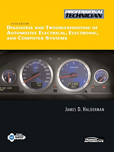 9780135066966: Diagnosis and Troubleshooting of Automotive Electrical, Electronic, and Computer Systems (Professional Technician)