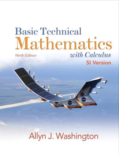 9780135067123: Basic Technical Mathematics with Calculus, SI Version, Ninth Edition (9th Edition)