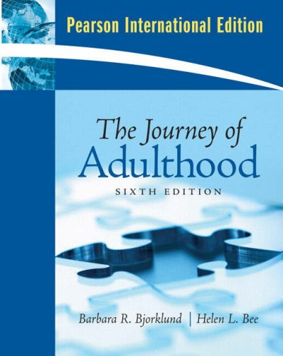 9780135067130: The Journey of Adulthood