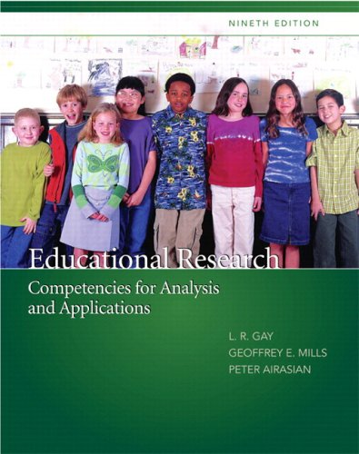9780135069141: Educational Research: Competencies for Analysis and Applications (with MyEducationLab) Value Package (includes SPSS 16.0 Student Version for Windows)