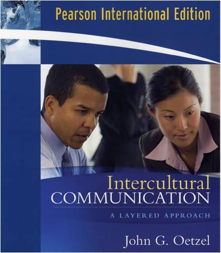 9780135069356: Intercultural Communication: VangoBooks: A Layered Approach